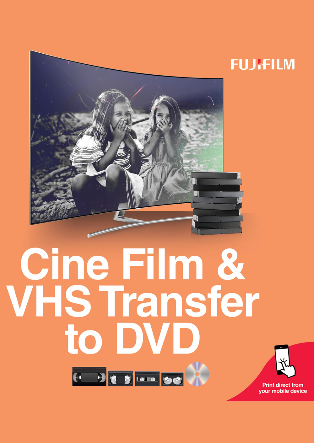 Fujifilm VHS & DVD